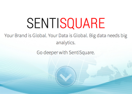 SENTISQUARE - social media deep semantic analysis